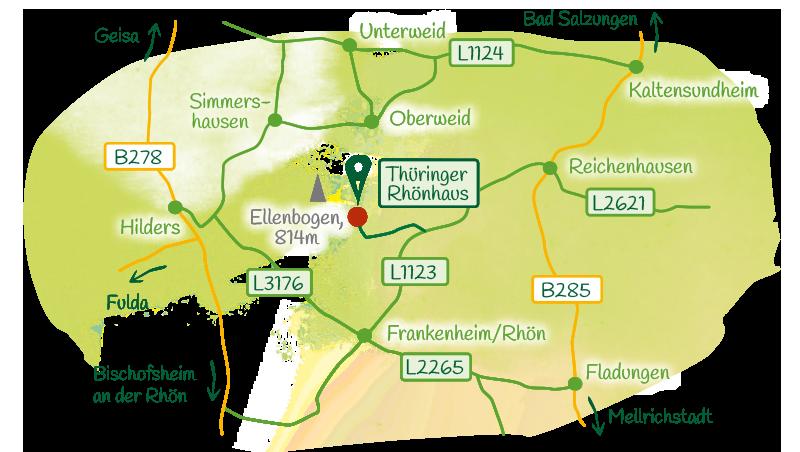 Anfahrt-Rhoenhaus